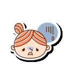 おだんごヘアーの女の子☆(個別スタンプ:12)
