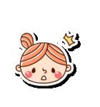 おだんごヘアーの女の子☆(個別スタンプ:13)