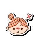 おだんごヘアーの女の子☆(個別スタンプ:19)