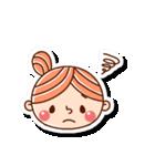 おだんごヘアーの女の子☆(個別スタンプ:21)