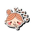 おだんごヘアーの女の子☆(個別スタンプ:31)