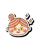 おだんごヘアーの女の子☆(個別スタンプ:32)