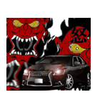 全日本高級漆黒車会(個別スタンプ:4)