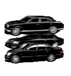 全日本高級漆黒車会(個別スタンプ:22)