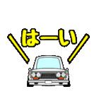 旧車シリーズfor510ブルーバード(個別スタンプ:35)