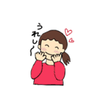 まりちゃんのふつうの毎日(個別スタンプ:24)