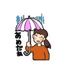 まりちゃんのふつうの毎日(個別スタンプ:27)