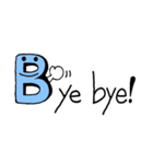 Kids Alphabet 1(個別スタンプ:03)