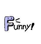 Kids Alphabet 1(個別スタンプ:08)