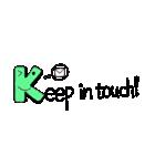 Kids Alphabet 1(個別スタンプ:16)