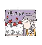 【母の日・誕生日】母のカウントダウン(個別スタンプ:38)