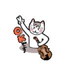 バイオリン弾きの3本毛ねこの日常♪(個別スタンプ:11)