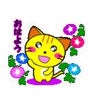 4匹の子猫 第3弾 夏【5~8月】(個別スタンプ:01)