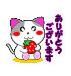 4匹の子猫 第3弾 夏【5~8月】(個別スタンプ:08)