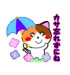 4匹の子猫 第3弾 夏【5~8月】(個別スタンプ:15)