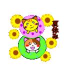 4匹の子猫 第3弾 夏【5~8月】(個別スタンプ:23)