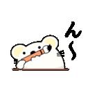達筆くまさん(個別スタンプ:21)