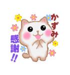 【かずみ】さんが使う☆名前スタンプ(個別スタンプ:10)