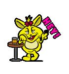 ハッピーラビット 〜ウサわせ〜(個別スタンプ:11)
