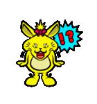 ハッピーラビット 〜ウサわせ〜(個別スタンプ:19)