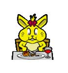 ハッピーラビット 〜ウサわせ〜(個別スタンプ:40)