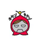 やさぐれ赤ずきん(個別スタンプ:05)