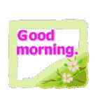 伝えたい想いにかわいい花を添えて。英語版(個別スタンプ:5)