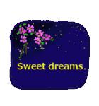 伝えたい想いにかわいい花を添えて。英語版(個別スタンプ:6)