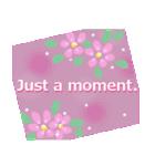 伝えたい想いにかわいい花を添えて。英語版(個別スタンプ:11)