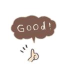 Cute and Fun stickers(個別スタンプ:03)