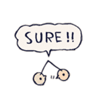 Cute and Fun stickers(個別スタンプ:05)