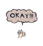 Cute and Fun stickers(個別スタンプ:11)