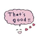 Cute and Fun stickers(個別スタンプ:13)