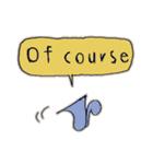 Cute and Fun stickers(個別スタンプ:14)