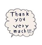 Cute and Fun stickers(個別スタンプ:17)