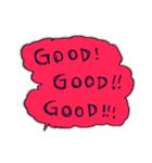 Cute and Fun stickers(個別スタンプ:18)