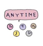 Cute and Fun stickers(個別スタンプ:26)