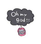 Cute and Fun stickers(個別スタンプ:34)