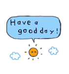Cute and Fun stickers(個別スタンプ:40)