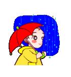 でこちゃんの花束;母の日も梅雨の晴れ間も(個別スタンプ:17)