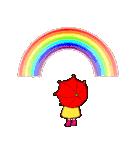 でこちゃんの花束;母の日も梅雨の晴れ間も(個別スタンプ:18)