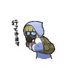 動く!花粉症男子(個別スタンプ:05)