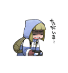 動く!花粉症男子(個別スタンプ:08)