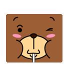 顔だけクマさん(個別スタンプ:22)