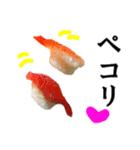 【実写】寿司☆押忍(個別スタンプ:18)