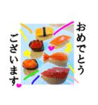 【実写】寿司☆押忍(個別スタンプ:30)