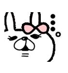 【敬語】うさぎのモカちゃん番外編①(個別スタンプ:23)