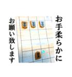 【実写】将棋のコマ(個別スタンプ:24)