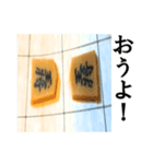 【実写】将棋のコマ(個別スタンプ:34)