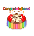 誕生日ケーキに名前を添えて(個別スタンプ:03)